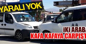 Sanayi'de Trafik Kazası Oldu