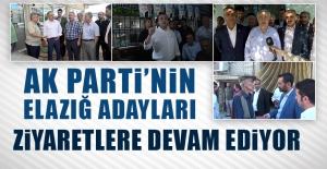 Seçime 13 Gün Kala AK Parti'nin Adayları Çalışmalarını Sürdürüyor