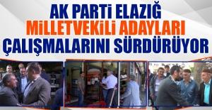 Seçime 18 Gün Kala AK Parti Adayları Çalışmalarını Sürdürüyor