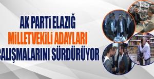 Seçime 20 Gün Kala AK Parti Adayları Çalışmalarını Sürdürüyor