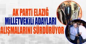 Seçime 22 Gün Kala AK Parti Adayları Çalışmalarına Devam Etti