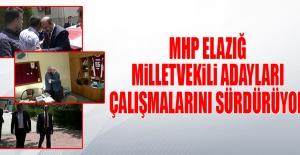 Seçime 22 Gün Kala MHP Adayları Çalışmalarına Devam Etti