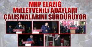 Seçime 3 Gün Kala MHP Adayları Çalışmalarını Sürdürüyor