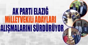 Seçime 4 Gün Kala AK Parti Adayları Çalışmalarını Sürdürüyor