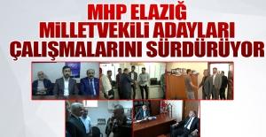 Seçime 4 Gün Kala MHP Adayları Çalışmalarını Sürdürüyor
