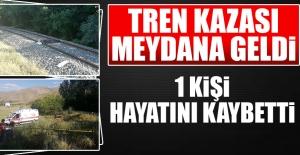 Sivrice'de Tren Kazası