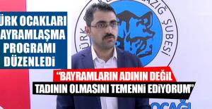 Türk Ocakları Bayramlaşma Programı Düzenledi
