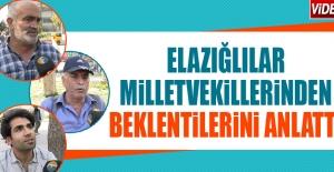 Elazığlılar Milletvekillerinden...