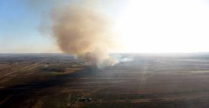 YPG/PKK, Tel Rıfat'ta Ev ve Tarlaları Ateşe Verdi