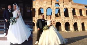 6 Aydır Birlikte Olan Nihat Kahveci ve Fulya Sever Evlendi