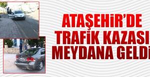 Ataşehir'de, Trafik Kazası!