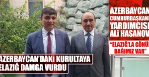 Azerbaycan'daki Medya Kurultayı'na Elazığ Damga Vurdu