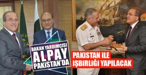 Bakan Yardımcısı Alpay, Pakistan'da