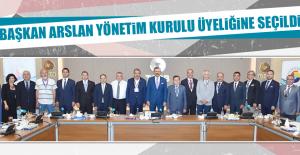Başkan Arslan Milletlerarası Ticaret Odası Yönetim Kurulu Üyeliğine Seçildi