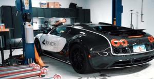Bugatti Veyron'nun Yağ Değişim Ücreti 100 Bin Lirayı Aşıyor