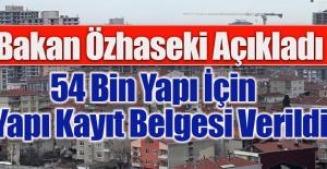 Çevre ve Şehircilik Bakanı Mehmet Özhaseki Açıkladı