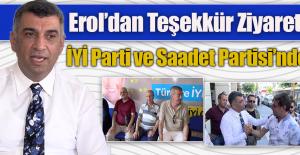 CHP Milletvekili Erol'un Durağı, İYİ Parti ve Saadet Partisi Oldu