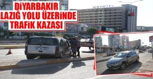 Diyarbakır-Elazığ Yolu'nda Trafik Kazası