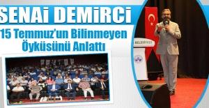 Elazığ Belediyesi Tarafından Konferans Düzenlendi