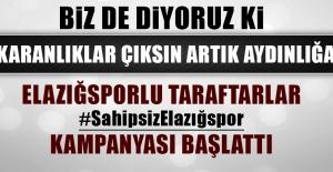 Elazığspor Taraftarları Destek Kampanyası Başlattı