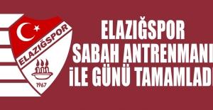 Elazığspor'da 1.Etap Hazırlıkları