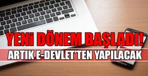 E DEVLET'TE YENİ DÖNEM