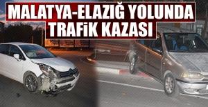 Malatya-Elazığ Yolu'nda Yine Trafik Kazası