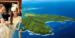 """Prens William ve Kate Middleton, Oğulları Prens George'un Doğum Günü İçin Karayip'teki """"Mustique"""" Adasını Seçti"""