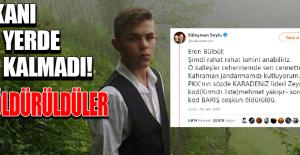 Şehit Eren Bülbül'ün Kanı Yerde Kalmadı