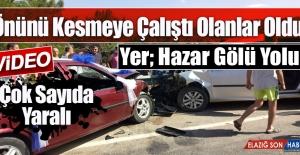 Sivrice'de En Mutlu Günde Trafik Kazası