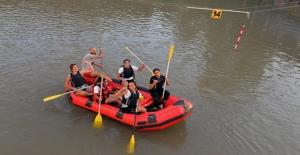 Tuncelili Raftingci Kızlar Dünya Şampiyonası'na Hazırlanıyor