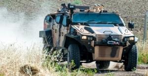 Türk Zırhlısı Yörük Saha Performansını Göstermeye Başladı