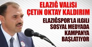 Vali Kaldırım Elazığspor İçin...