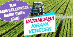 YENİ TARIM BAKAN'INDAN DİKKAT ÇEKEN ADIM!