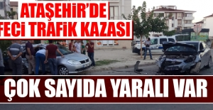 Ataşehir'de Feci Trafik Kazası!