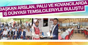 Başkan Arslan, İş Dünyası Temsilcileriyle Buluştu