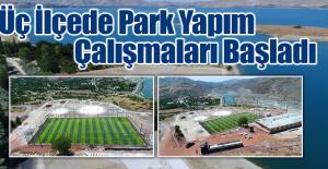 Belediye'den ilçelere Park