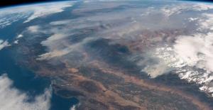 California'nın Büyük Felaketi Uydudan Fotoğraflandı