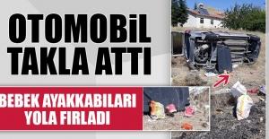 Elazığ'da Araç Takla Attı: 4 Yaralı