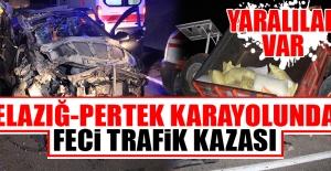 Elazığ-Pertek Karayolunda Trafik Kazası