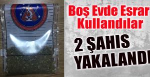 Elazığ'da 2 Şahıs Esrarla Yakalandı