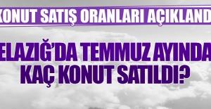 Elazığ'da Temmuz Ayında Kaç Konut Satıldı?