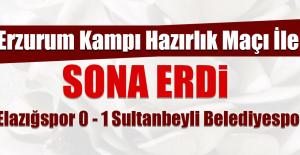 Erzurum Kampı Hazırlık Maçı ile Sona Erdi