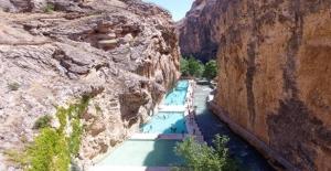 'Kudret Havuzu' Bayram Tatili İçin Ziyaretçilerini Bekliyor
