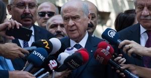 MHP Genel Başkanı Bahçeli'den ABD'ye Tepki