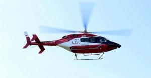 Samsun'da Yaşlı Kadının İmdadına Ambulans Helikopter Yetişti