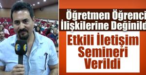 """100.Yıl Mesleki Teknik Anadolu Lisesinde, """"Etkili İletişim"""" Semineri"""