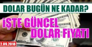 22 Eylül'de Dolar Ne Kadar?