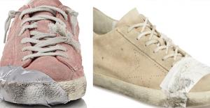 """3330 Liraya Satılan Eskimiş Görünümlü Ayakkabı, Sosyal Medyada """"Fakirlikle Alay Ediliyor"""" Tartışması Yarattı"""