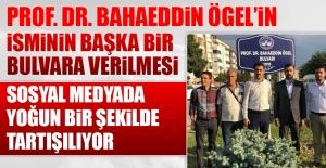 Bahaeddin Ögel#039;in İsmi Başka...